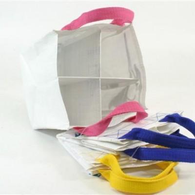 4 plastic tassen voor recycling