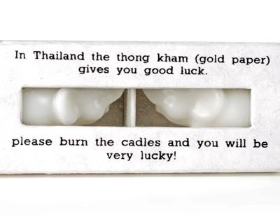 fairtrade kaarsen